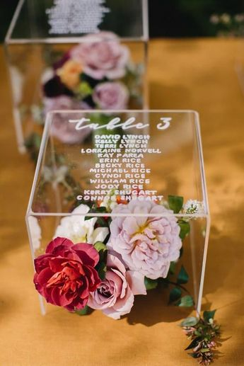 Give your wedding guests the best seats in the house with these cute and creative seating charts. Complete with celestial star displays, movie-themed charts, and everything in between, these seating displays will perfectly fit the theme of any big day.Let your wedding guests sit back and enjoy your s