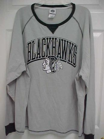 419a69f1b Details about NWT Reebok NHL Hockey Men s Chicago Blackhawks Long Sleeve T- SHIRT SIZE 2XL