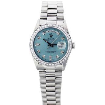 ROLEX Platinum Day-Date President Wristwatch Ref 18026