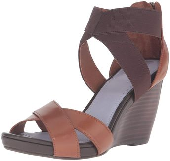 01cc02a7d9e Johnston   Murphy Women s Neela Wedge Sandal. Comfortable with fully padded  insole with memory foam