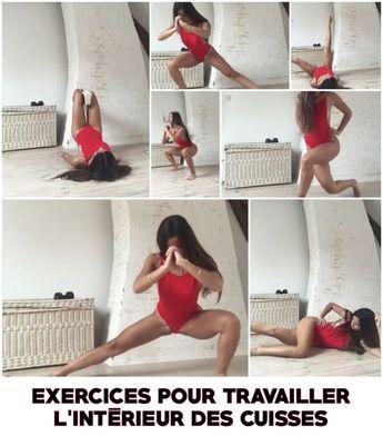 7 Exercices pour travailler l'intérieur des Cuisses et obtenir les jambes d... - #cuisses #des #exercices #Jambes #l39intérieur #les #obtenir #pour #Travailler
