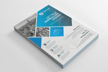 PSD Creative Flyer Design - Graphic Templates
