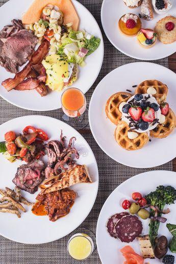 Feasts, Views & Mimosas: 6 Fancy Sunday Brunch Buffets