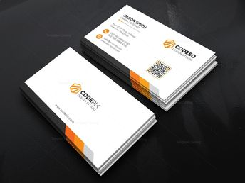 Simple Stylish Business Card - Graphic Templates