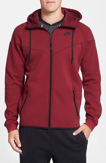 Nike+Water+Repellent+Tech+Fleece+Windrunner+Jacket+available+at+#Nordstrom