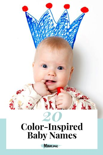 Name the Rainbow: 20 Color-Inspired Baby Names