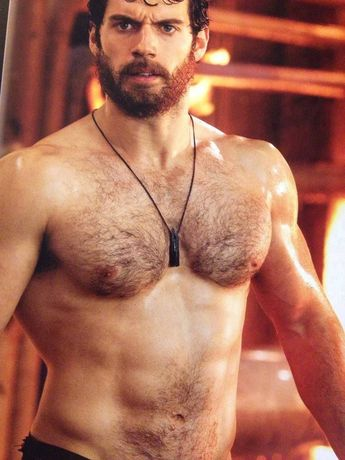 Can he get any more perfect? Henry Cavill aka the Man of Steel.
