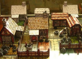 PAPERMAU: A Medieval Village Paper Model For Dioramas, RPG And Wargamesby MadunTwoSwords