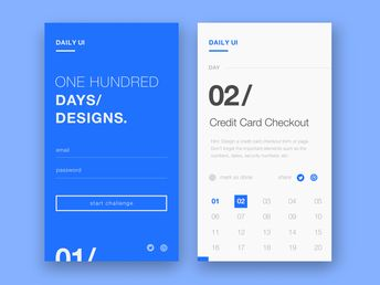 Daily UI 001- Sign Up