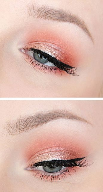 Maquillage Yeux – Coral eyes…
