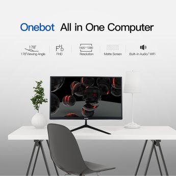 Onebot AK22 Dual Core Intel Celeron 3865U All in One Desktop Computer Sales Online - Tomtop