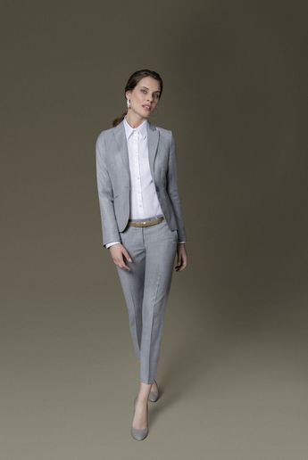 He looks confident and stretches the silhouette: ... - #confident #Silhouette #stretches #trousers