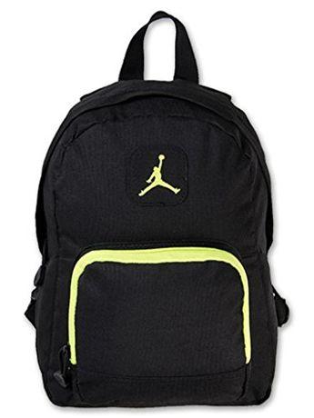 660c17332158 Nike Air Jordan Backpack Black Green Toddler Preschool Boy Girl Small Mini  Bag  Nike