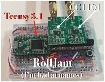 Anatomy of the Rolljam Wireless Car Hack