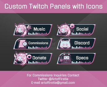 Recently shared twitch panels ideas & twitch panels pictures • pikove