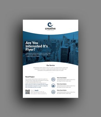 Geneva Stylish Business Corporate Flyer Template - Graphic Templates