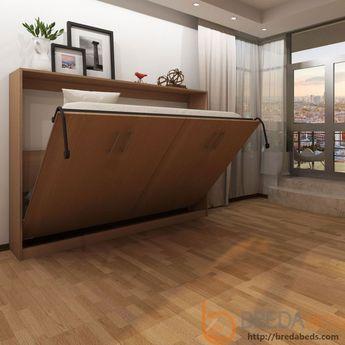 Horizontal Urban Murphy Bed-Transitioning