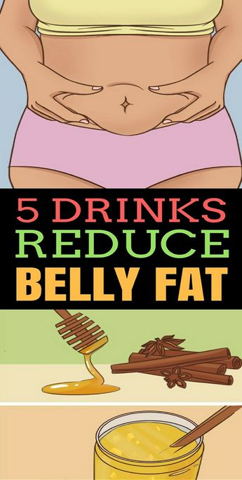 5 drinks to help reduce the appearance of belly fat