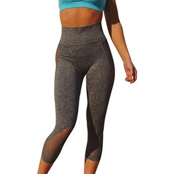 eb1c77be67f Women s Fashion High Waist Sports Gym Yoga Running Fitness Sport Pants  Trousers Athletic Pants in Long