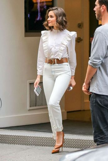 50+ All White Outfits Street Style You Should To Try