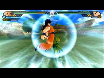 Majin Vegeto : Majin Vegeta and Goku fuse with the potaras