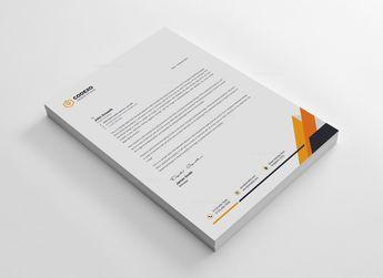 Business Letterheads Design 002740 - Template Catalog