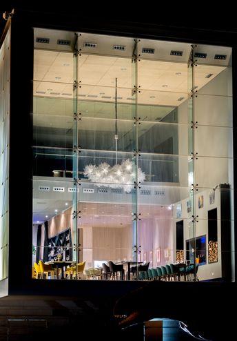 Emotional project, Fluo chandelier