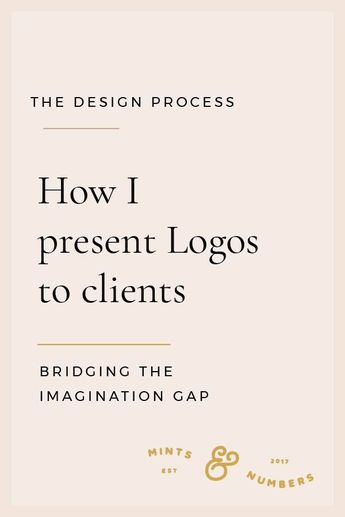 How I present Logos to Clients