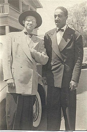 Afro American Men, 1930s or 40s
