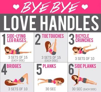 6 Moves to Get Rid of Love Handles