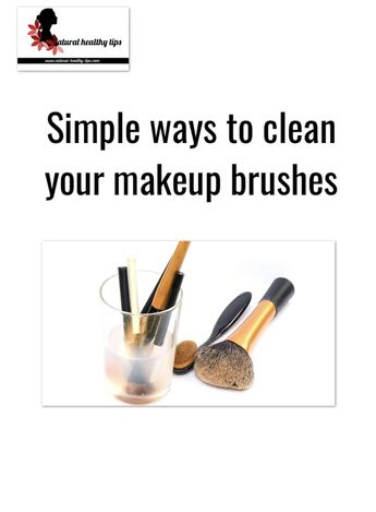 How to clean your beauty makeup brushes