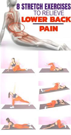 8 Stretch Exercises to Relieve Lower Back Pain