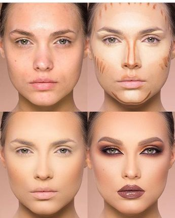 Highlighting and Contouring : How-To Contour A Face Like A Pro - Style O Check #makeuplooks #makeuptips #eyes #eyemakeup #facemakeup #lipstick #lips
