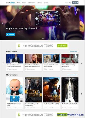 VideoNow Video WordPress Theme By Happy Themes