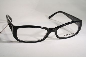 588e8aa0a618 New CARACTÈRE Women s Chic Black Antiallergenic Designer Glasses Eyeglass  Frames