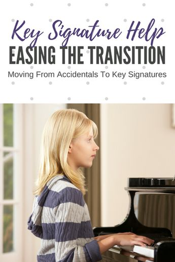 A simple way to make the transition to key signatures easier
