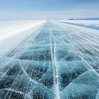 The Arctic Ocean Ice Highway - Northwest Territories Canada [1080x1080]