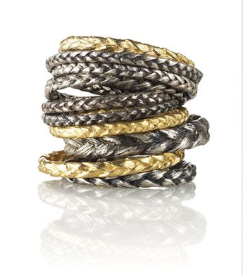 "catbird : braided rings. not sure why this is under ""wedding"" ... but they are real cool."