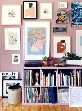 40+ Fantastic Gallery Wall Design Ideas