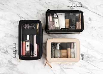 Best Chic Clear Makeup Bags from The Daily Edited, Anya Hindmarch and Truffle | The Beauty Look Book