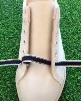 DIY Beautiful & Unique Shoelace Guide 😍