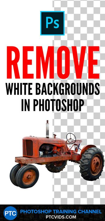 How To Remove White Backgrounds in Photoshop [QUICK & EASY WAY!]