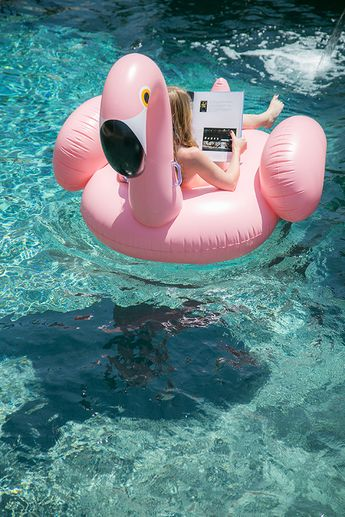 Flamingo Themed Pool Party