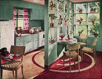 1945 Armstrong Kitchen