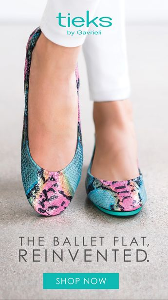Luxury ballet flats for the everyday woman. Find comfort in over 60 prints, patents, and classics. | Tieks Ballet Flats