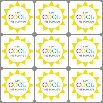 image about Have a Cool Summer Printable identified as A short while ago shared kool summer time printable tags Options kool