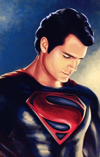 Man of Steel - Henry Cavill by TomsGG.deviantart.com on @deviantART