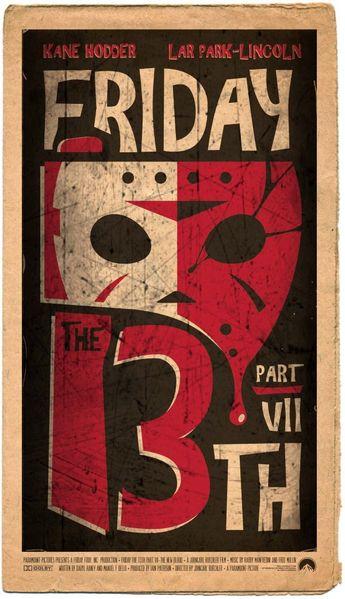 Horror Inspiration: Friday 13th Dark Illustrations