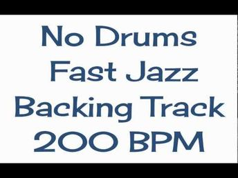 Drumless Jazz Tracks