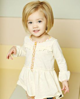 I want Kinsley's hair to be like this! It is so cute!!